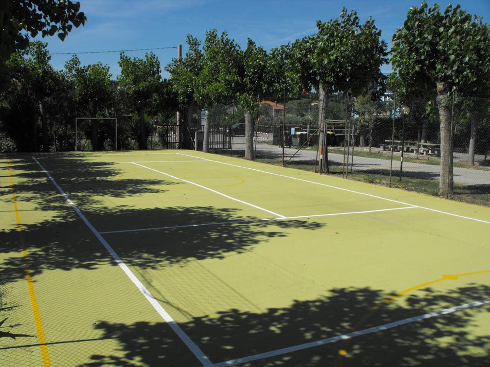 Campo polifunzionale calcetto tennis