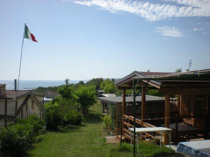 Vista area Camping Belvedere