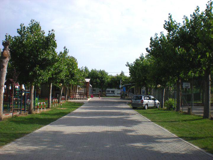 Ingresso Camping Belvedere